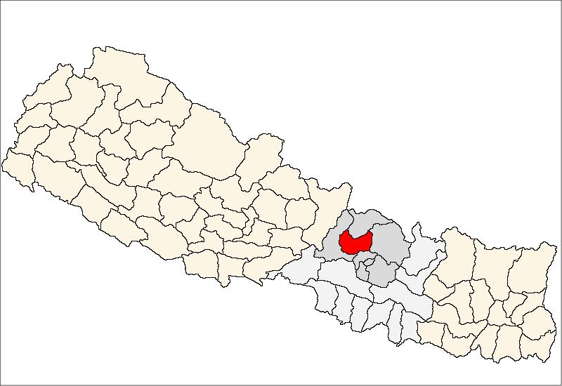 Nuwakot District Map