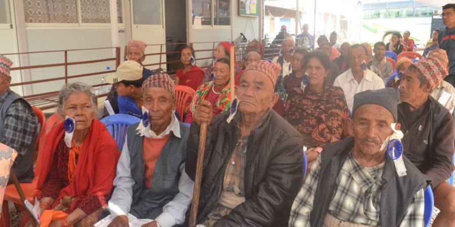 free eye checkup camp nuwakot