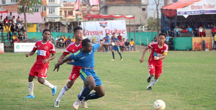Nuwakot Gold Cup Football Nuwakot Nepal Police Vs Pokhara11