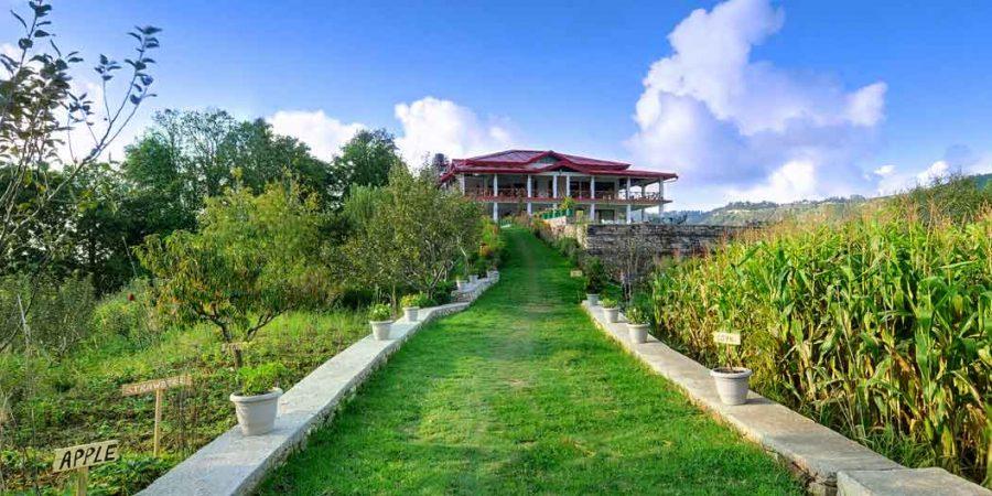 nuwakot greenland organic hotel resort nepal