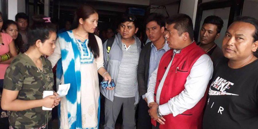 Radhika Tamang Donation
