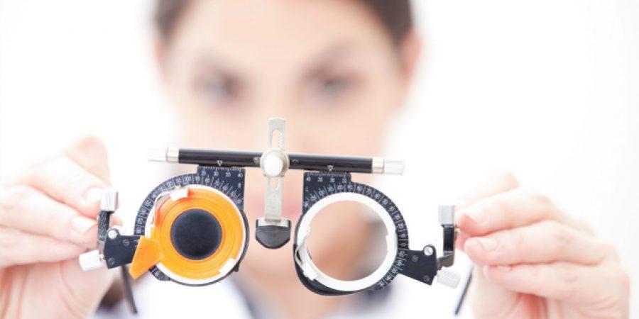 eye checkup equipment