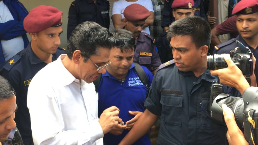 arrested to prakanda nuwakot police