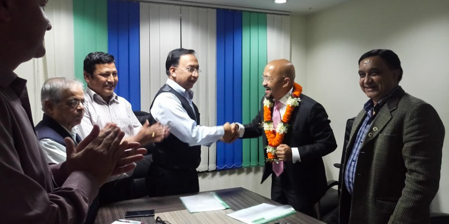 sugog shangri-la bank ceo nepal