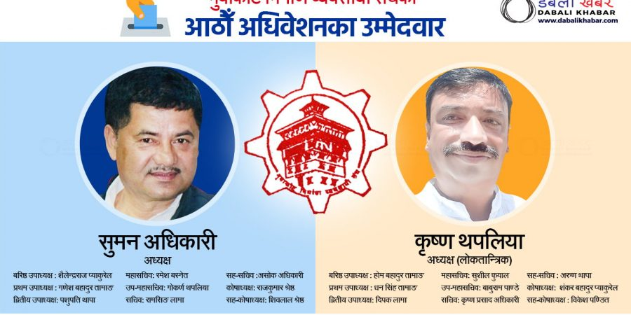 Candidate name list of Nuwakot Contractor Association