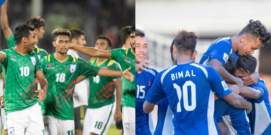 Nepal Vs Bangladesh Saff Championship