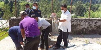 sanitation program uttargayadham nepal