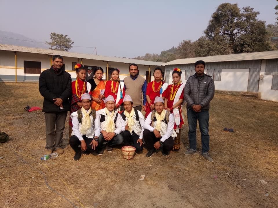 first nuwakot trishuli mahotsav dance team
