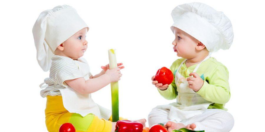baby healthy eating girl boy