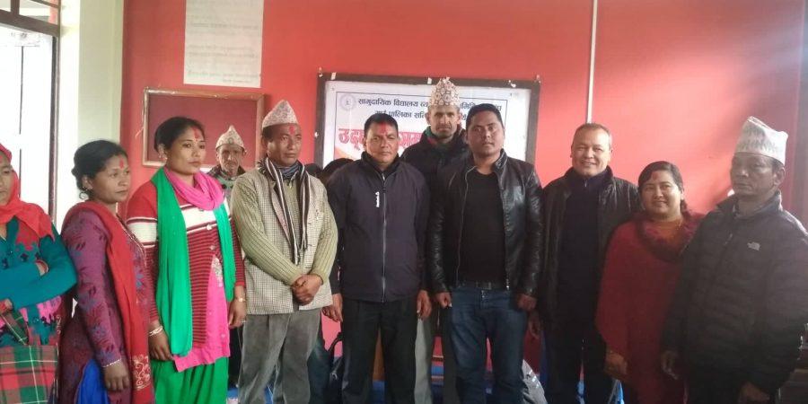 community school committee likhu nuwakot