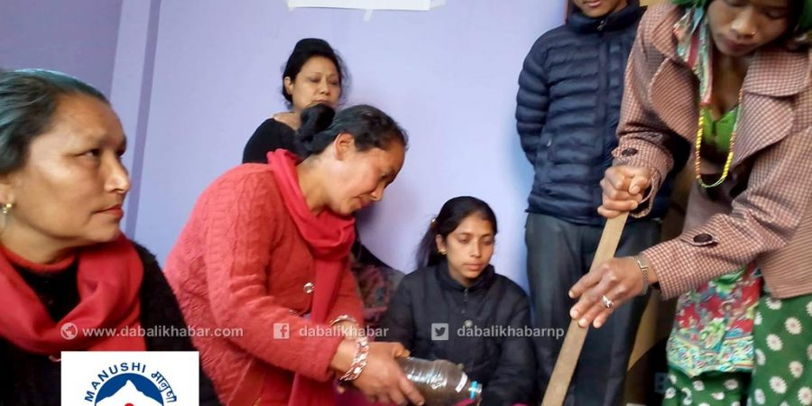 manushi microfinance soap training
