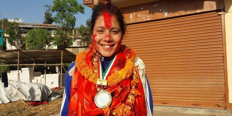 taekwondo player rohini chhetri nuwakot