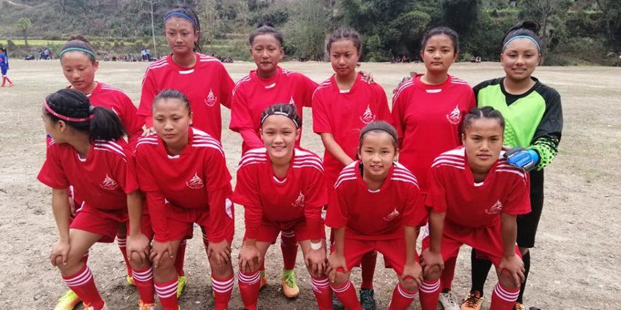 nuwakot women football team