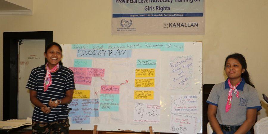 provincial level advocacy training