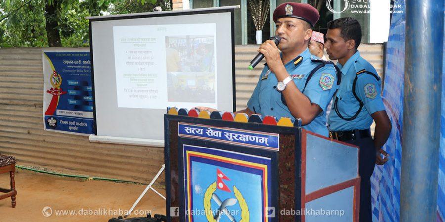 avi narayan kafle chief of nuwakot police sp