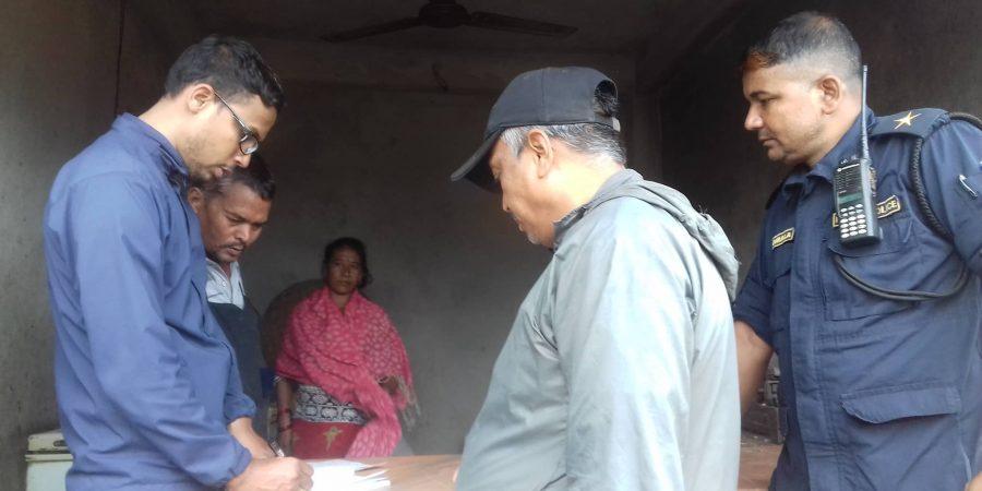 market supervision in phalante suryagadhi rural municipality nuwakot