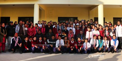 13 sag nuwakot players rezin rimal and krishna bahadur tamang