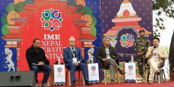 gagan thapa pokhara nepal literature festival