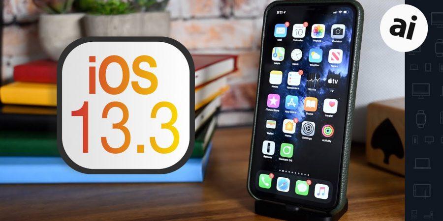 ios 13.3 update released