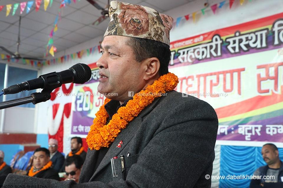 sanju pandit mayor of bidur municipality