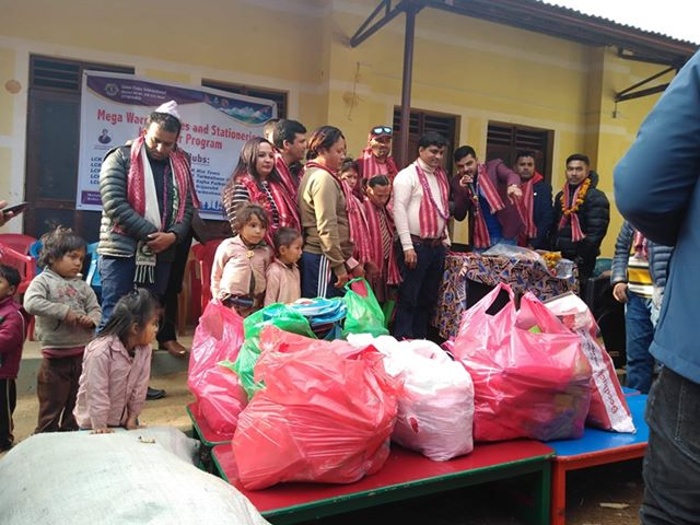 education materials distribute