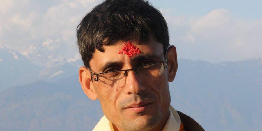 bhola raj poudel chairman nuwakot