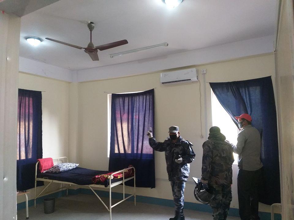 novel corona covid 19 quarantine trishuli bidur municipality