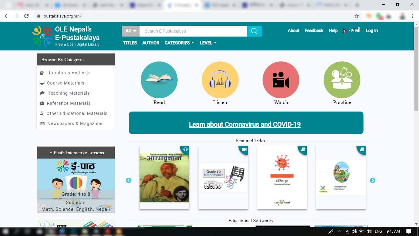 ole nepal ebook pustakalaya free digital library nepal