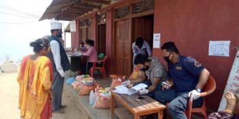 belkotgadhi municipality coronavirus food distribution program nuwakot