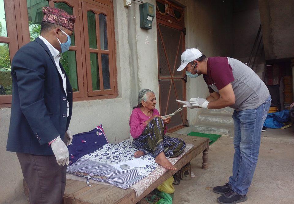 social security allowance bidur municipality ward 1 lenin ranjit trishuli