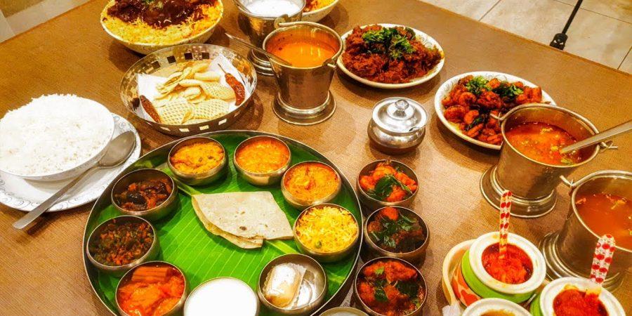 veg thali food
