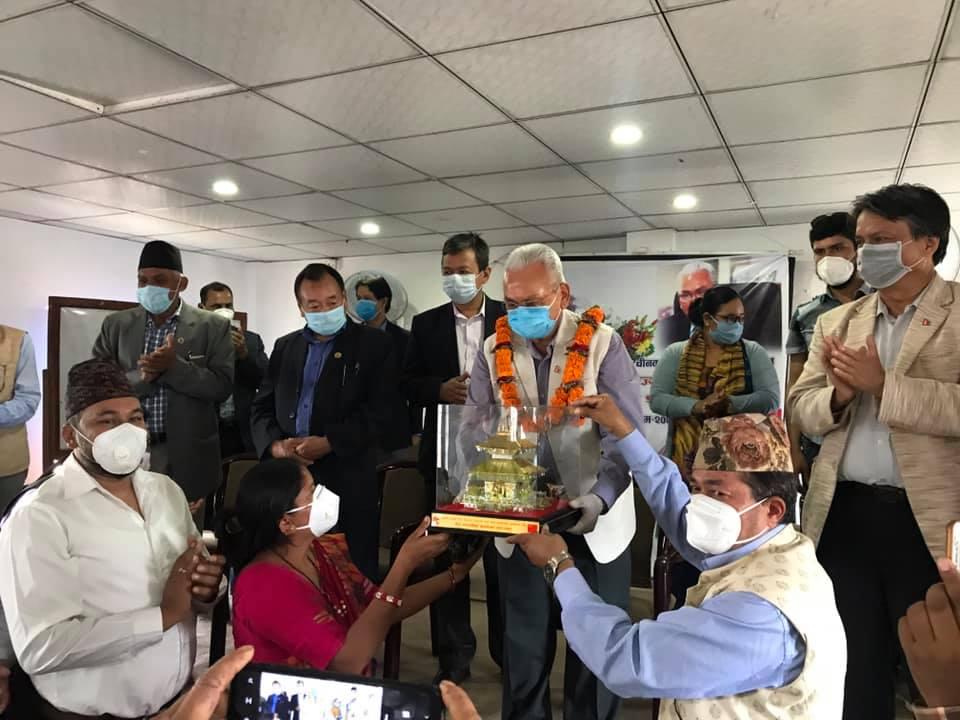 china ambassador mahendra pandey farewell program