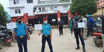 coronavirus covid19 citizen awareness nuwakot police program
