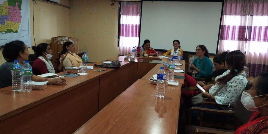 first upadekashya nuwakot meeting