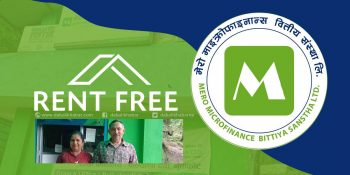 house rent free for mero microfinance company nuwakot