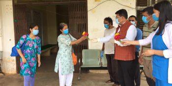 corona virus covid 19 affected two women discharge from nuwakot